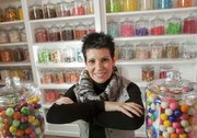 Michelle Miller is the owner of the new Mass Street Sweet Shoppe, 727 Massachusetts St.