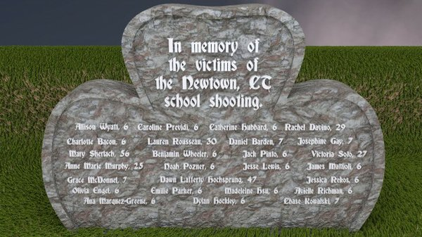 Names of the Newtown, CT elementary school shooting victims