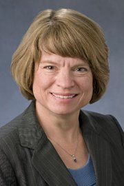 Donna Ginther, a professor of economics and director of the Center for Science Technology and Economic Policy at Kansas University.
