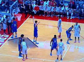 KU Defends Under Basket Inbound Play