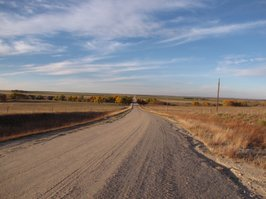 Ness county, October, 2012. 