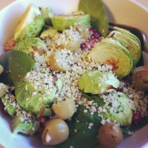 Hempy Winter Salad.