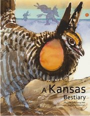 "A greater prairie chicken appears on the cover of ""A Kansas Bestiary."""