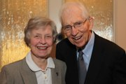Al and Lila Self, pictured here in 2010, have given more than $44 million to Kansas University, making them KU's largest individual donors. Al Self died Sunday at age 91 in Hinsdale, Ill.