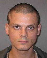 Kansas prison photo of Jeremy Ray Kriner.