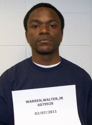 Kansas prison photo of Walter Warren.
