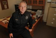 Bill Edwards, the city of Eudora's new police chief, has been on the job for just over a month and is finding much to like in his new town.