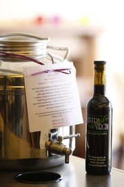 The Aged Black Cherry Balsamic Vinegar Condimento at Extra Virgin, 937 Massachusetts St.