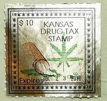 A Kansas Drug Tax Stamp.