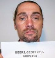 Kansas prison photo of Geoffry Scott Beers