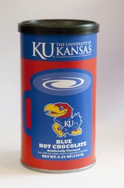KU Blue Hot Chocolate at Kansas Sampler, 921 Massachusetts St.
