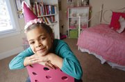 Seven-year-old Ivori Jones has taken a different approach to celebrating her birthday. Jones along with her parents, Jason and Hillary Jones, have invited all the first-graders at Langston Hughes School to her birthday party and have requested that parents bring non-perishable items to be donated to the Ballard Center rather than traditional birthday gifts.