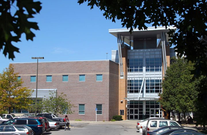 The Lawrence-Douglas County Health Department is located on the first and second floors inside the Community Health Facility, 200 Maine.