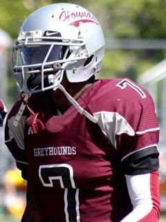 Fort Scott C.C. cornerback Kevin Short. 