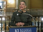 Senate President Susan Wagle, R-Wichita, was honored Thursday by the Kansas University Cancer Center.
