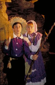 Mark Twain's stories about Tom Sawyer and Becky Thatcher come alive in Mark Twain Cave.