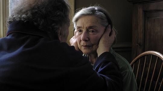 "Emmanuelle Riva in Michael Haneke's ""Amour"""