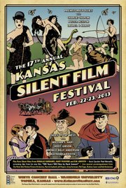 The 17th Kansas Silent Film Festival will be held Friday and Saturday at Washburn University in Topeka.