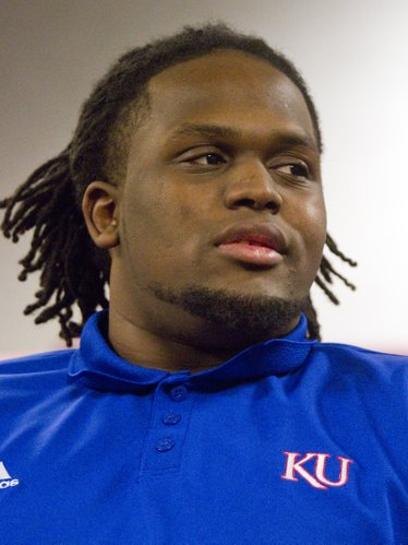 KU defensive lineman Ty McKinney.