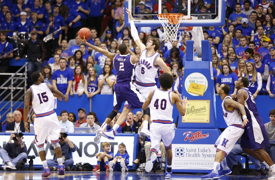check out bd6d1 4dd8f A History of Kansas Basketball Uniforms: Alternates and ...