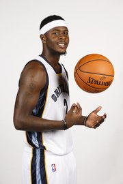 Former Kansas University guard Josh Selby, seen here in a Memphis Grizzlies media day photo from Oct. 1, 2012, was cut by the Cleveland Cavaliers on Sunday, March 3, 2013.