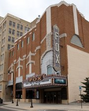 "The historic Fox Theatre in Hutchinson has been designated as the ""State Movie Palace of Kansas."""