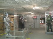 The Kansas Underground Salt Museum contains a gallery that includes original movie artifacts and costumes on loan from Sony and Warner Brothers.
