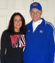 Jim Egan graduated from Kansas University, and Candy Egan graduated from Western Kentucky University. Usually those two facts don&#39;t mean much together, but an NCAA Tournament matchup this week gives the Chicago-area couple, married for 27 years, a chance for a bit of fun.
