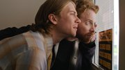 "Lou Taylor Pucci and Seth Green are shown in a scene from ""The Story of Luke."""