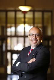 John Augusto is the new director for Kansas University's Center for Undergraduate Research.