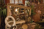 Vintage finds inside French Accent, 700 Locust St.