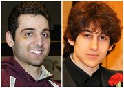 This combination of undated photos shows Tamerlan Tsarnaev, 26, left, and Dzhokhar Tsarnaev, 19.