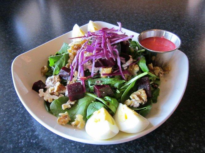 Beet Salad at Mariscos