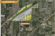 Inland Port I will be located east of Baldwin City at Logistics Park Kansas City, a more than 1,000-acre rail-and-truck yard/distribution center that developers say will be a major economic boon for the area.