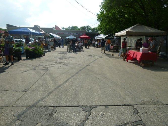 Cottin's Hardware Farmers Market - Thursdays, 4:00 pm - 6:30 pm
