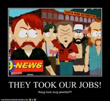 Robots, they took our jobs!!!