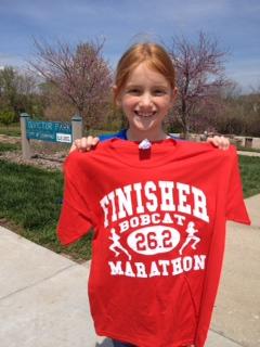 Way to run, Avery!