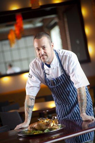 Pachamama's chef Ken Baker.