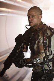 """Elysium"" starring Matt Damon opens Aug. 9."