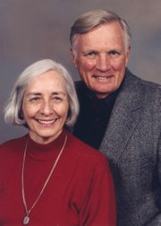 "Kathleen and the late Hubert ""Hub"" Hall"