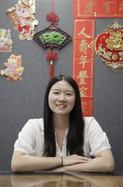 Erika Norikami, travels through Kansas and western Missouri as KU's Center for East Asian Studies outreach coordinator.