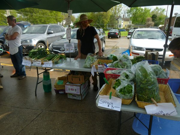 Avery's Produce can be found year round at several area markets including Cottin's Hardware Farmers Market.