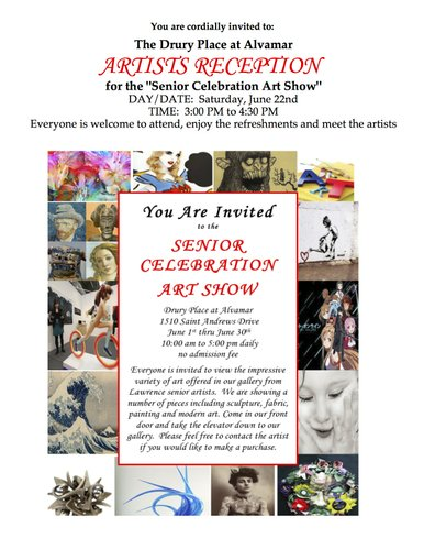 SENIOR CELEBRATION ART SHOW &