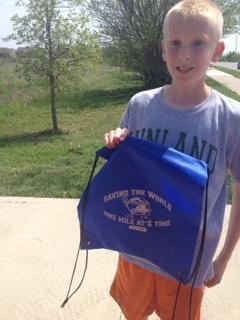Cody finished his 2nd marathon!