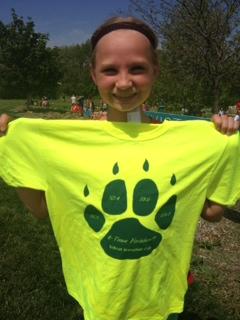 Tatum ran her 4th marathon!