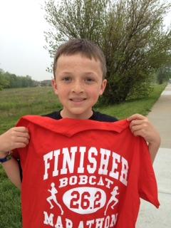 Nice finish, Ethan!