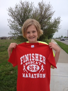 Haley finishes with 26.2!