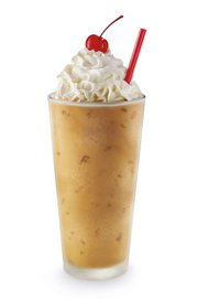 The peanut butter bacon milkshake, which Sonic added to its menu this month.