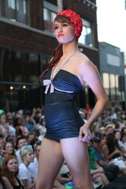 The West 18th Street Fashion Show, Kansas City's annual fashion spectacle, will be held at dusk June 8 in the Crossroads Arts District. The theme of this year's show is Guilded Summer.