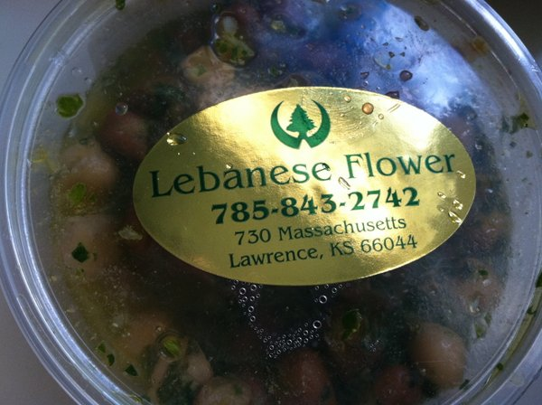Lebanese beans make for a great salad addition.